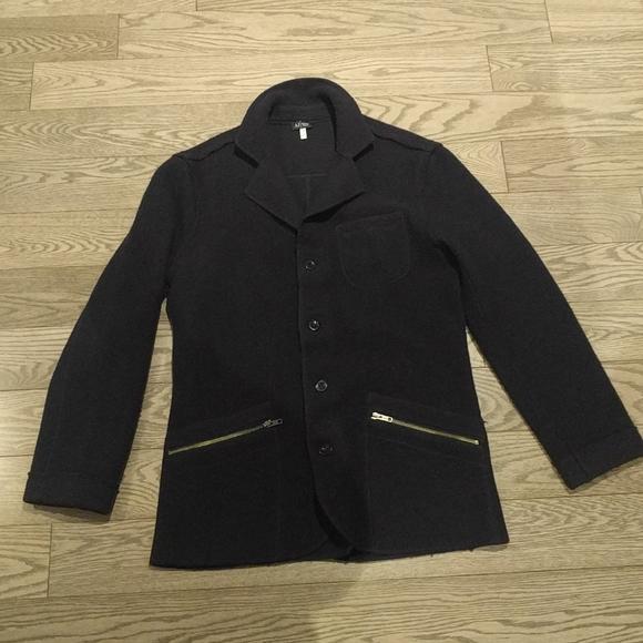 Armani Exchange blue blazer